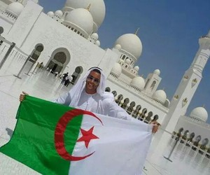 Algeria and flag image