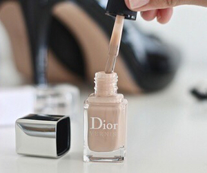 dior, nails, and nail polish image