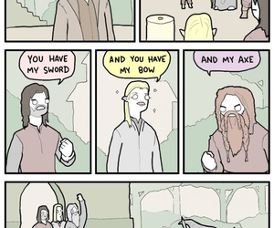 funny, Legolas, and lord of the rings image