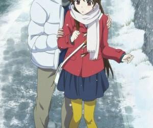 glasslip, snow, and touko fukami image