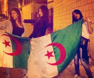 girl and algerienne image
