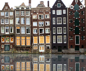 amsterdam, house, and beautiful image