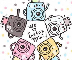 instax mini, camera, and fujifilm image