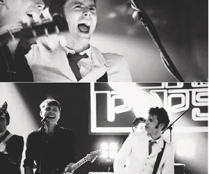 alex kapranos, david tennant, and franz ferdinand image