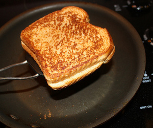 food, grilled cheese, and photography image
