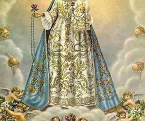 Virgin Mary, our lady, and agradeço-lhe image