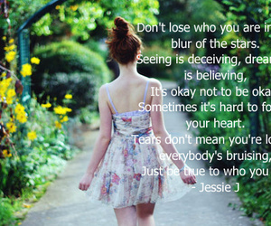be yourself, believe, and life image
