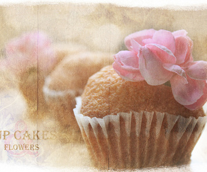 cake, cup, and cup cakes image