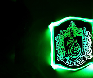 slytherin and harry potter image