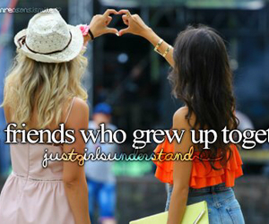 best friends, childhood, and friendship image