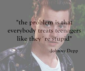 cry baby, johnny depp, and teenagers image