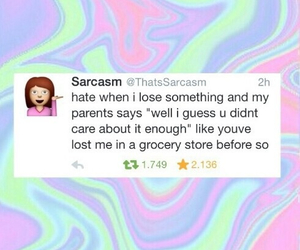 parents and sarcasm image