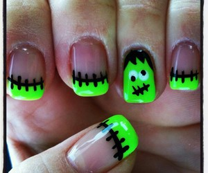 nails, Halloween, and cute image