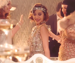 dress, flapper, and flapper girl image