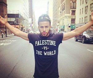 palestine, adam saleh, and world image
