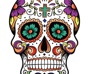 day of the dead, Halloween, and hipster image