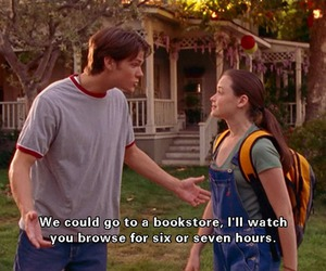 book, gilmore girls, and boy image