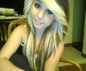 blonde hair, girl, and cute image