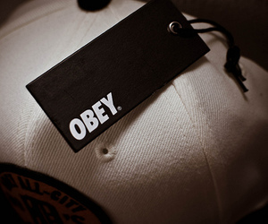 obey and cap image