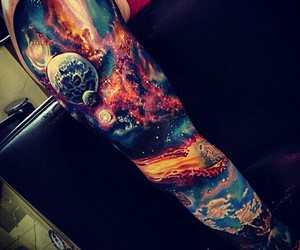 kunst, armtattoo, and arm image