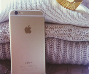 iphone, sweater, and iphone 6 image
