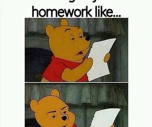 homework, funny, and true image