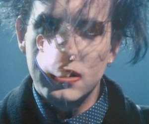 robert smith, the cure, and fascination street image