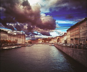 russia, Saint-Petersburg, and town image