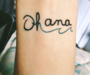 tattoo, ohana, and family image