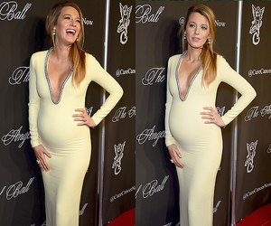 blake lively, pregnant, and cute beauty image
