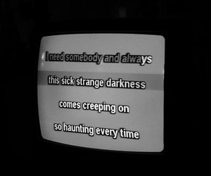 Darkness, quote, and text image