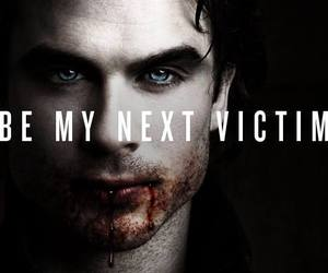 tvd, vampire, and damon image