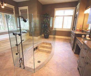 bathroom, house, and luxury image