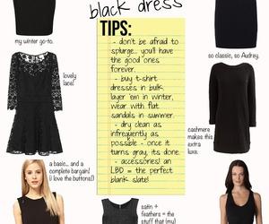 dress, fashion, and lbd image