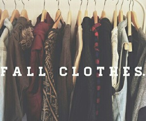 fall, clothes, and fashion image