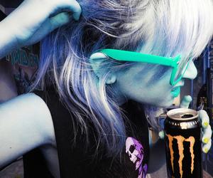 energy, girl, and glasses image
