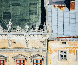 architecture, house, and lviv image