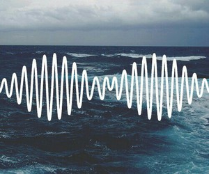arctic monkeys, music, and sea image
