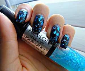 nails, revlon, and moon candy image
