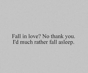 love, sleep, and quotes image