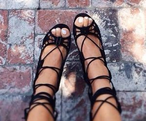 heels, strap, and strappy heels image