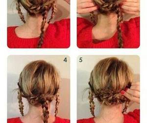 beautiful, tuto, and blond hair image