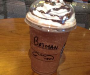 bat, batman, and cream image