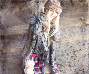 fashion, fur, and layers image