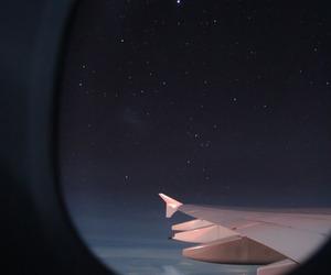 night, stars, and sky image