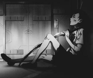 anime, manga, and blood + image