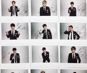 exo, kpop, and polaroid image