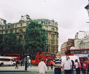 london, city, and people image