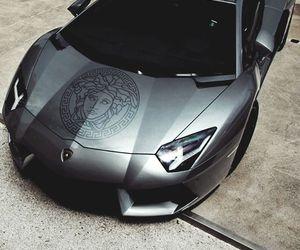Versace, car, and Lamborghini image