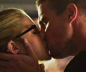 oliver, love, and olicity image